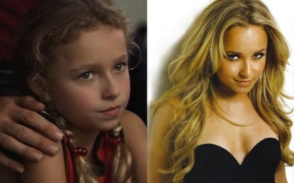child actresses then and now, child actresses who are now hot