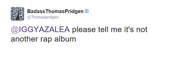 This Iggy Azalea Tweet Got The Most Hilarious Reactions