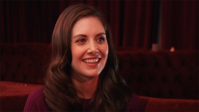 Sundance 2013 Video: Alison Brie on Toy's House