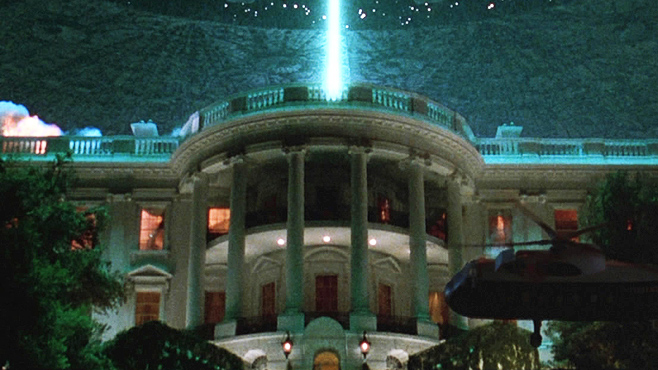 Independence day movie white house