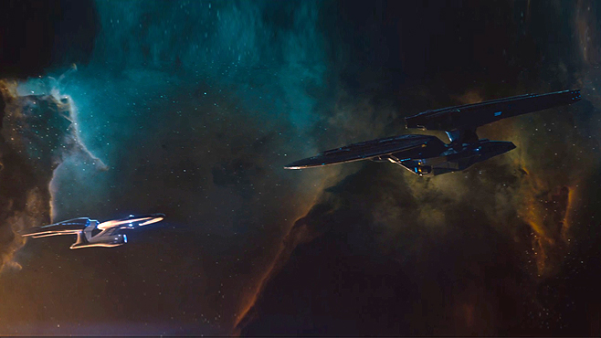 Star Trek Into Darkness Dark Enterprise