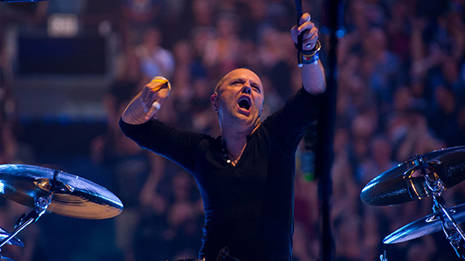 Metallica Through the Never Lars Ulrich