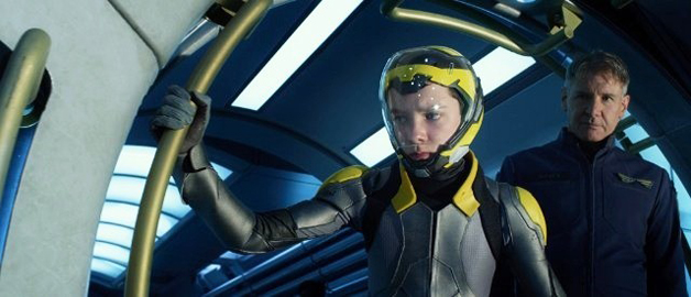 Ender's Game Asa Butterfield Harrison Ford
