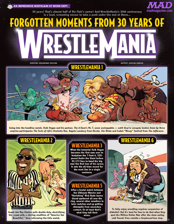 MAD 527 WrestleMania