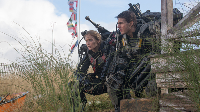 Edge of Tomorrow Emily Blunt Tom Cruise