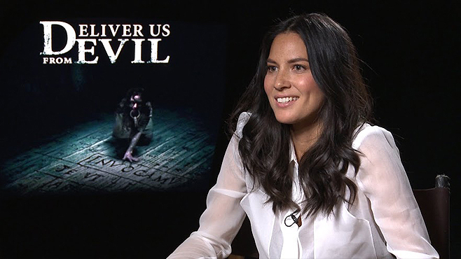 DELIVER US FROM EVIL interview: Olivia Munn - YouTube