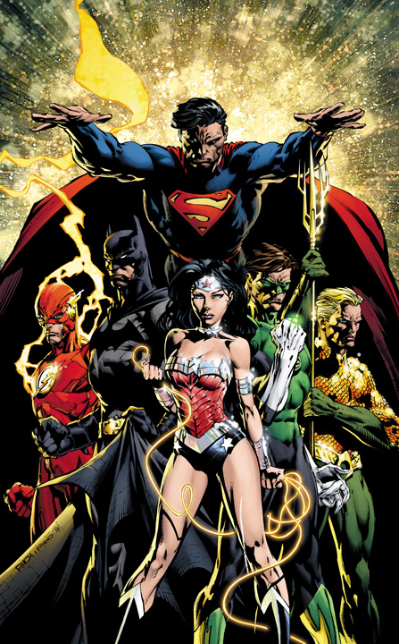 Justice League #1 David Finch Variant