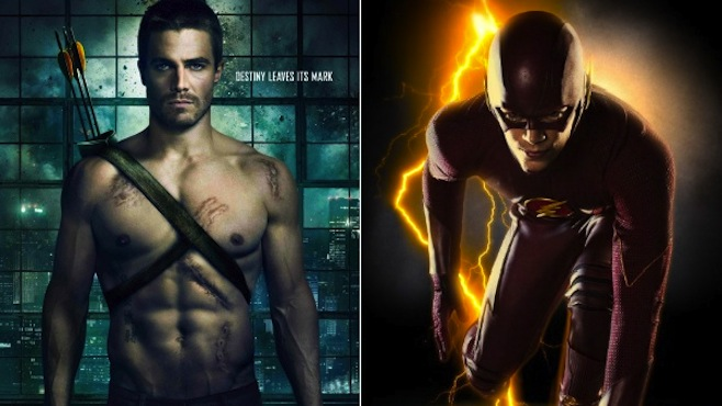 flash and arrow relationship