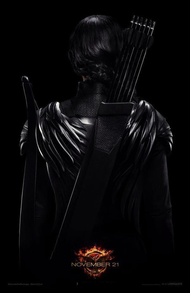 Jennifer Lawrence Hunger Games; Mockingjay