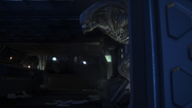 The Alien is intelligent, so you'll have to outsmart it.