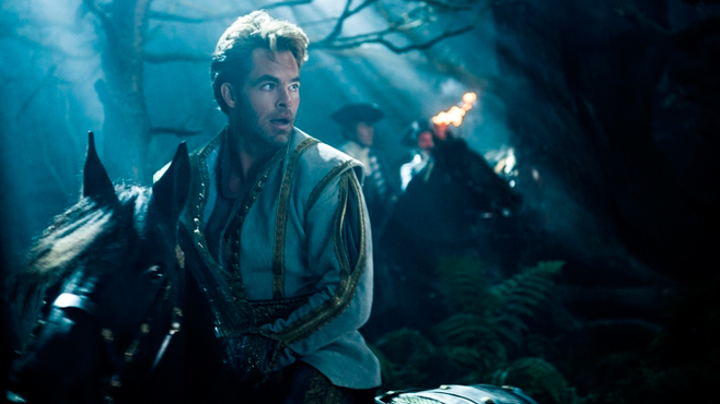 Into the Woods Chris Pine