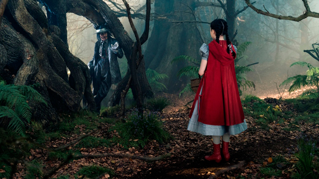 Into the Woods Johnny Depp Lilla Crawford