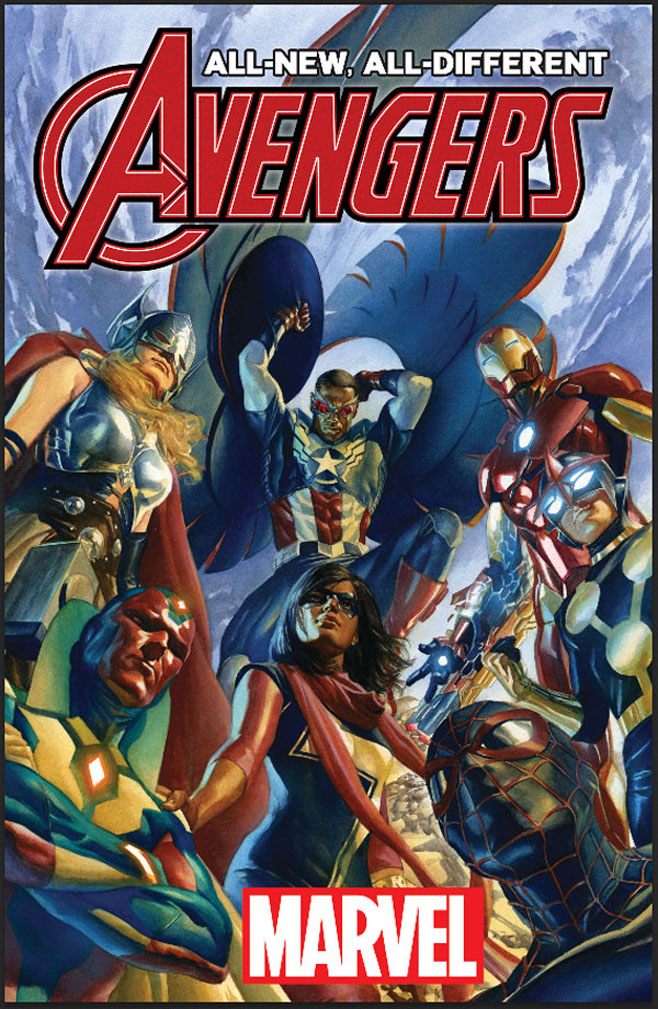 All-New All-Different Avengers Cover