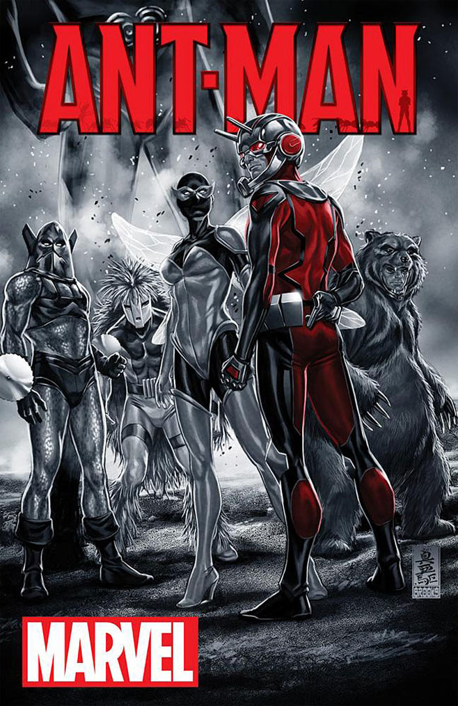 Ant-Man cover 1