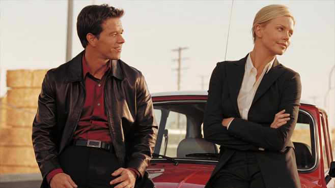 The Italian Job Mark Wahlberg Charlize Theron