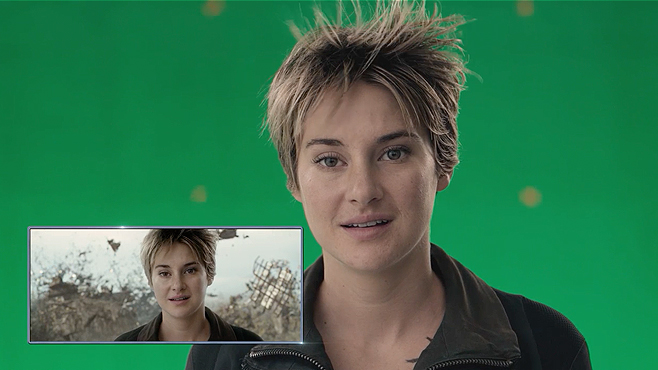 The Divergent Series Insurgent Shailene Woodley Tris vs Tris
