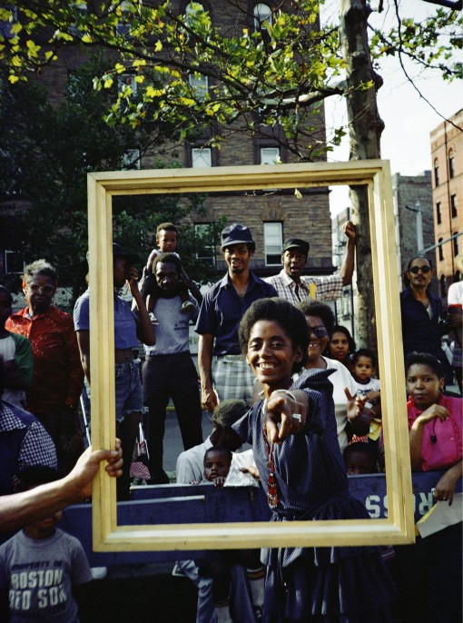 Art Is. . . (Girl Pointing), 1983/2009 Chromogenic color print 20 × 16 in. Courtesy Alexander Gray Associates, New York