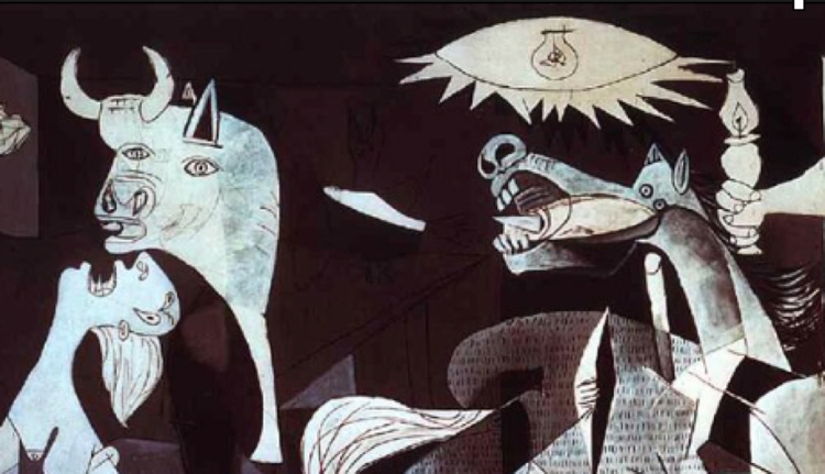 Famous Horse Head Painting Picasso