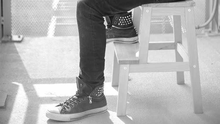 Skinny Jeans and Chucks