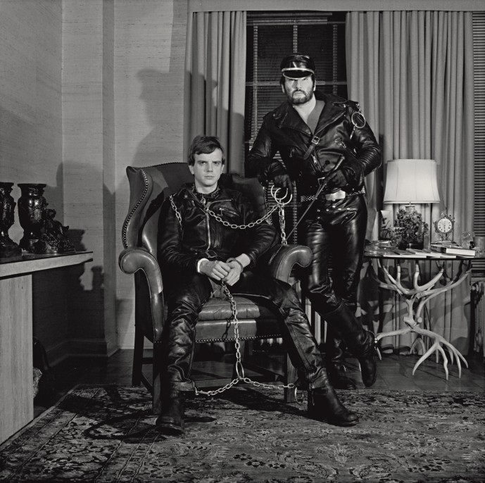 Robert Mapplethorpe, Brian Ridley and Lyle Heeter, 1979. Gelatin silver print, The Robert Mapplethorpe Foundation, N.Y. © Robert Mapplethorpe Foundation. Used by permission.