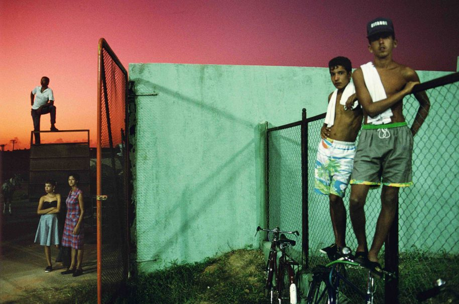 Photo: Alex Webb. Sancti Spiritus, Cuba, 1993
