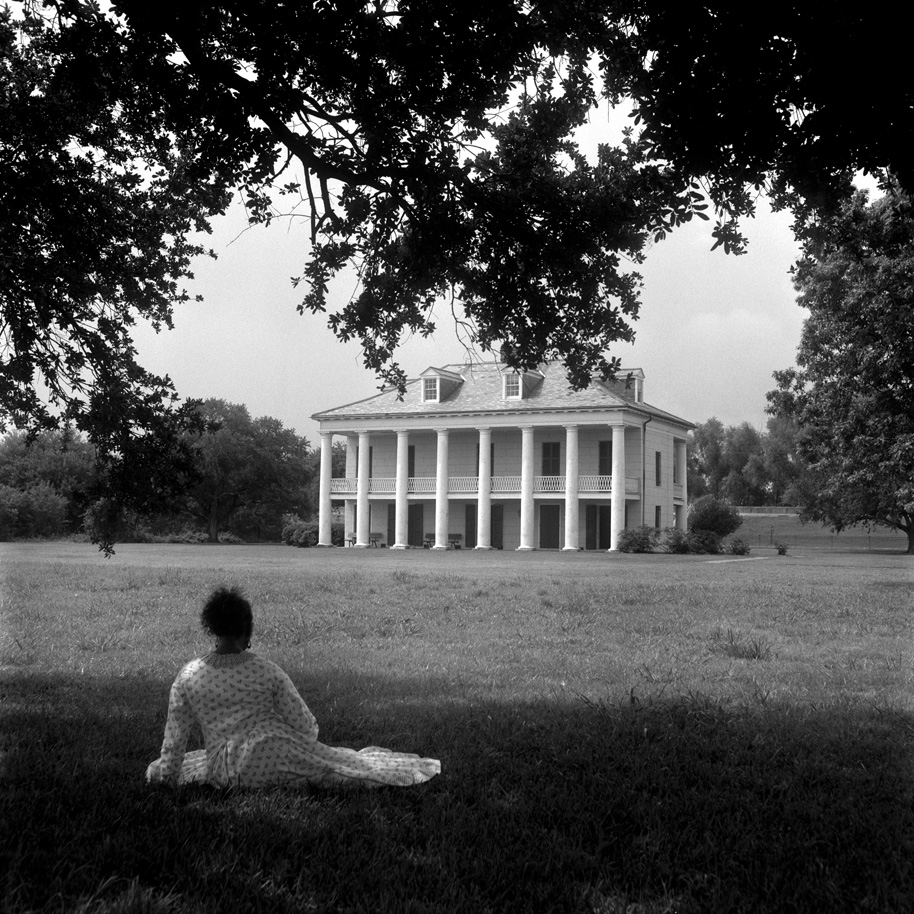 """Carrie Mae Weems. A Distant View. Gelatin silver print . 20"""" x 20"""""""