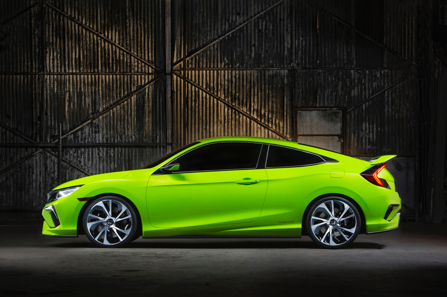 Instead Honda Added An Entirely Redesigned 2016 Civic Coupe To Its Updated Lineup Focusing On Improved Styling And A More Dynamic Driving