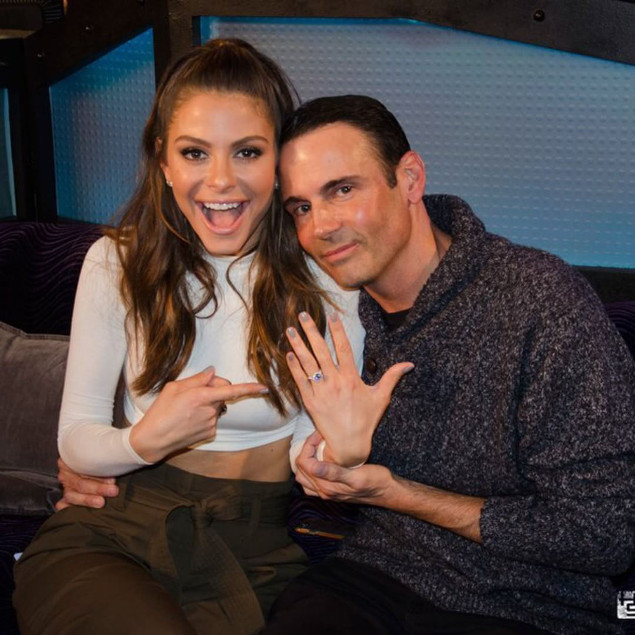 Maria Menounos Engaged