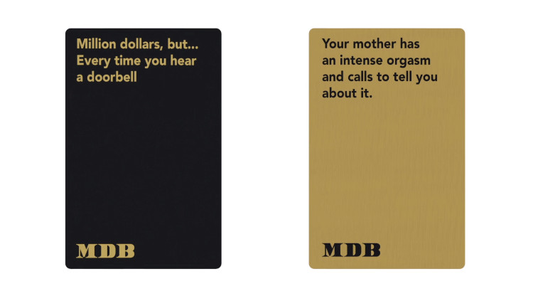 million dollars but is an hilarious new card game from rooster
