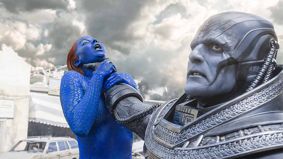 X-Men Apocalypse Oscar Isaac Jennifer Lawrence