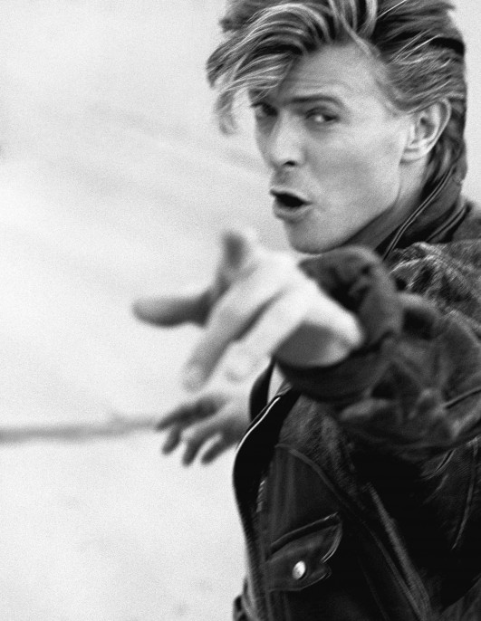 Herb Ritts (American, 1952–2002). David Bowie III, Los Angeles, 1987. Photographed for Rolling Stone Magazine