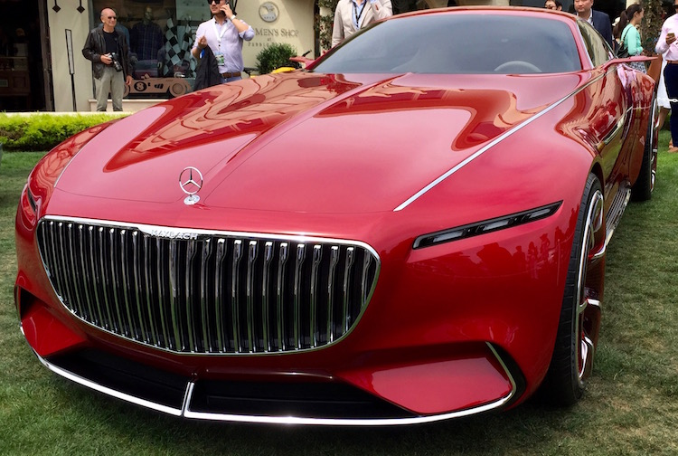 Attractive 2016 Pebble Beach Concours Du0027Elegance: Vision Mercedes Maybach 6 Concept  Wows Monterey   Mandatory
