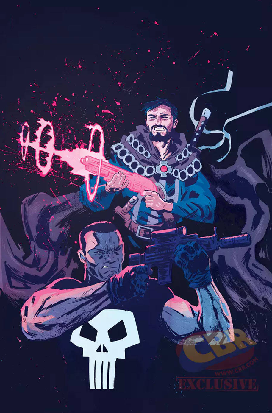 Doctor Strange and the Punisher Magic Bullets
