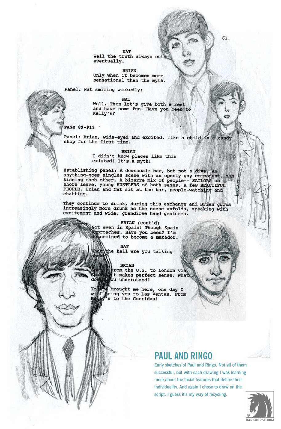 Paul & Ringo designs Robinson