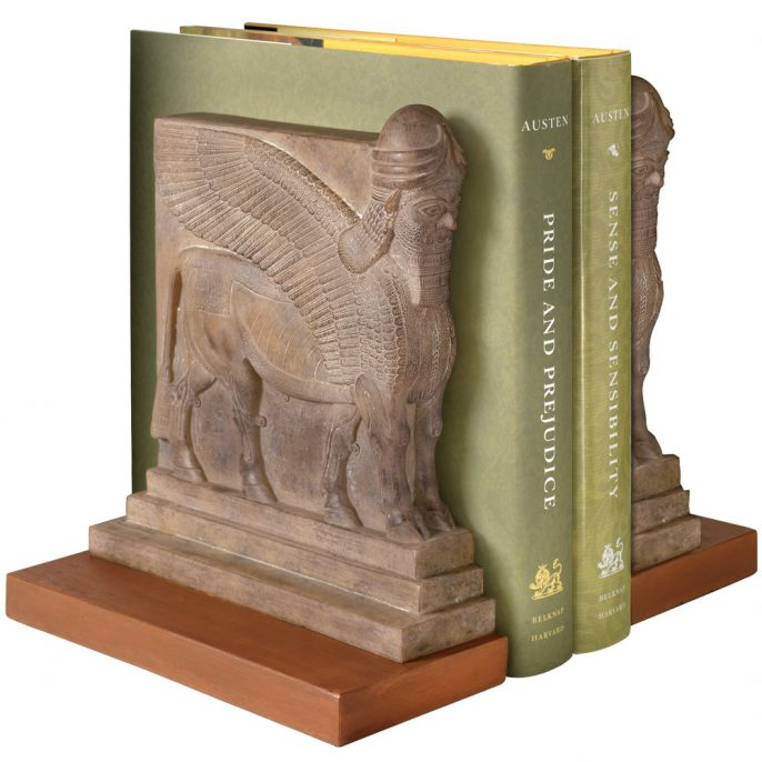 Assyrian Palace Guard Book Ends