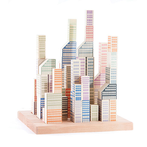 Manhattan Wooden Blocks, courtesy of The Metropolitan Museum of Art