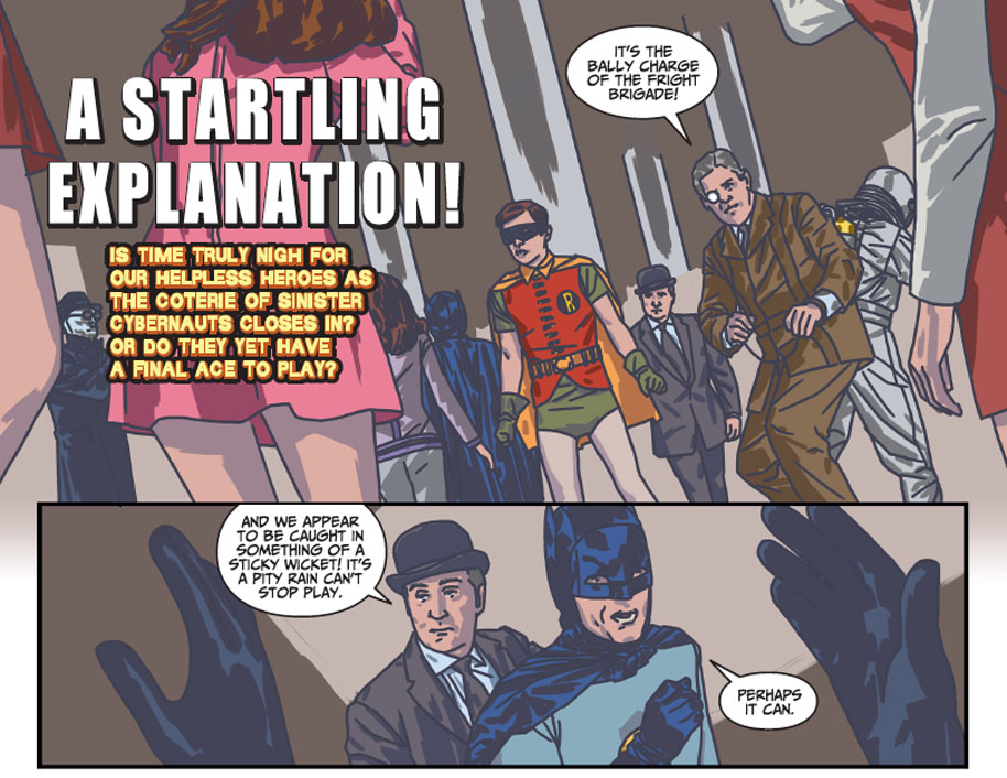Batman 66 Meets Steed and Peel 12 page 1