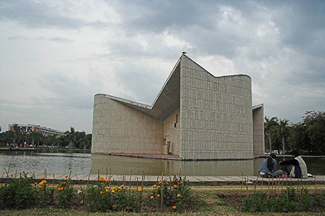 Gandhi Bhawan at Punjab University
