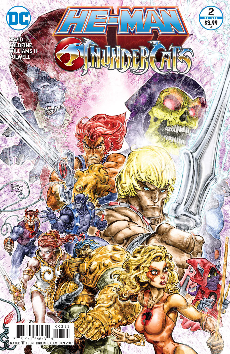 He-Man Thindercats 2 cover