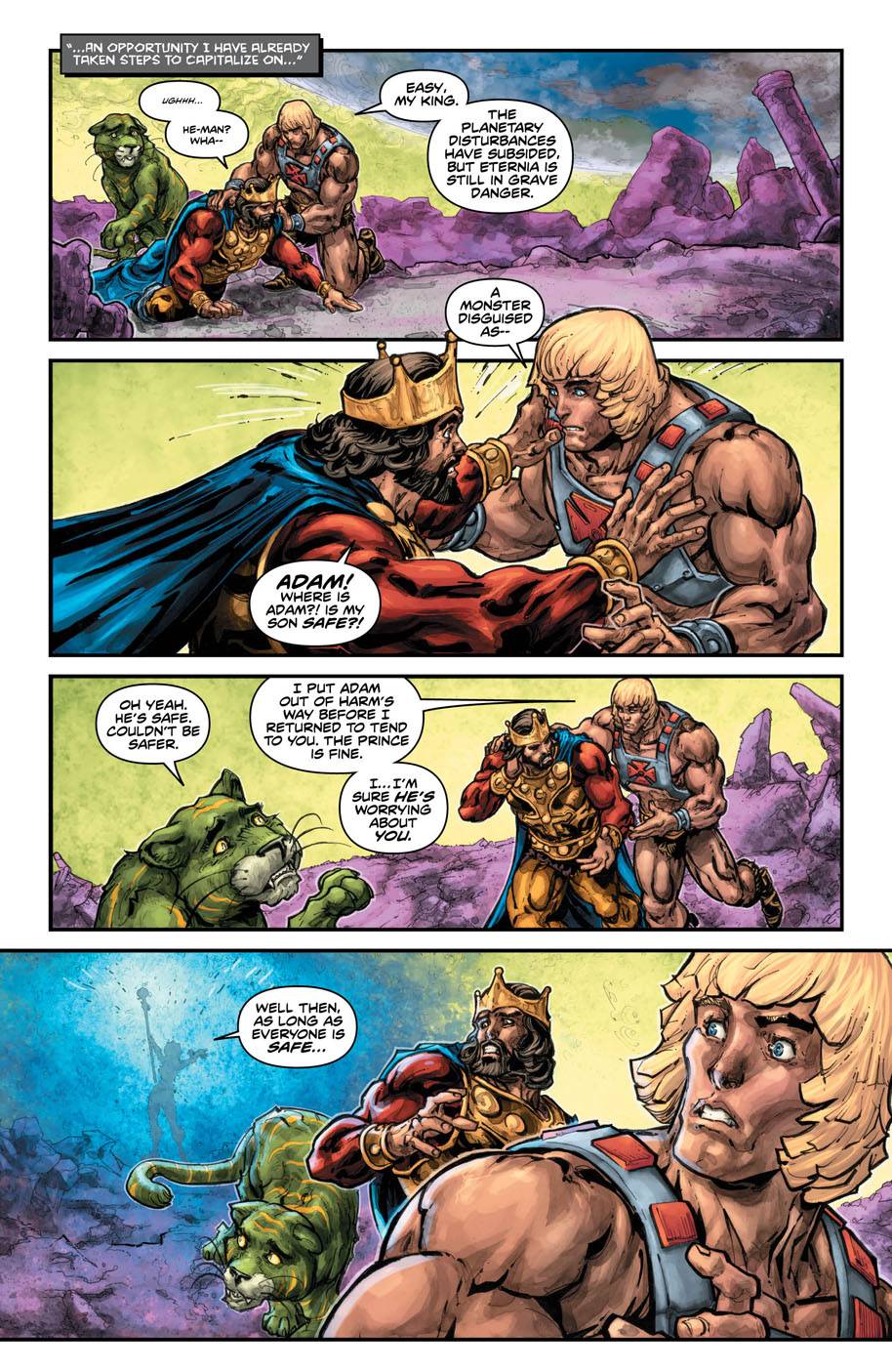 He-Man Thindercats 2 page 5