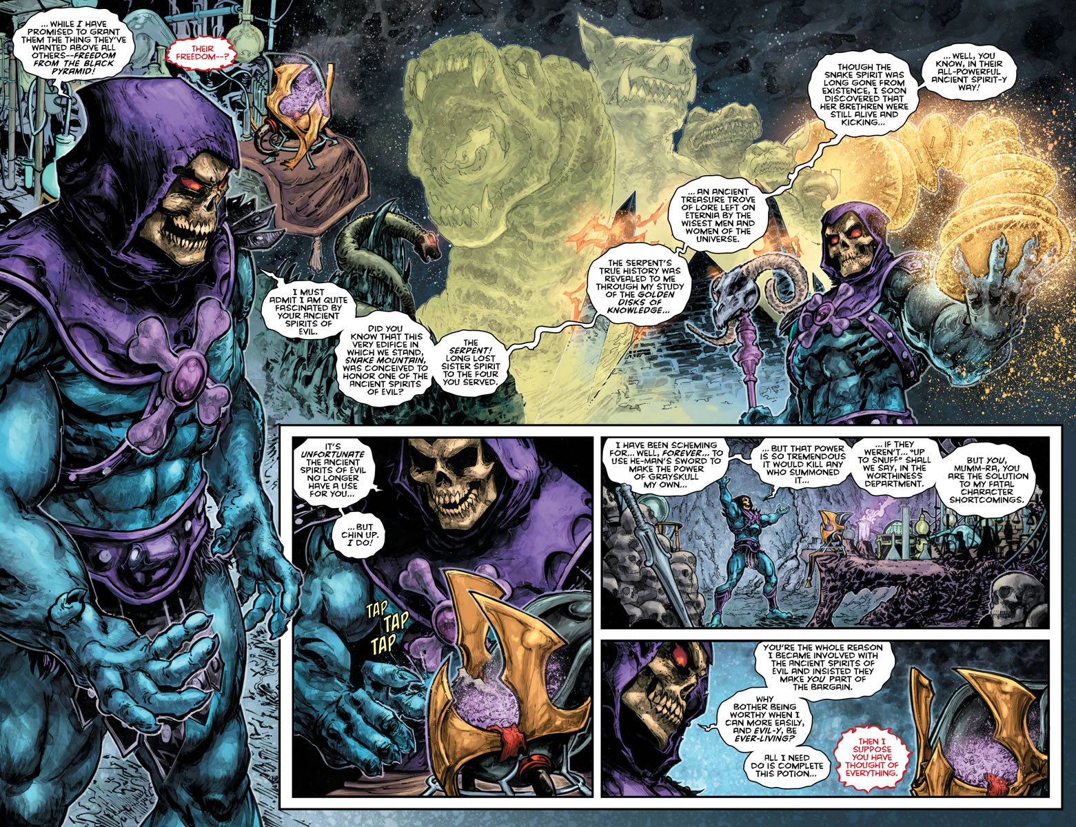 He-Man Thindercats 2 pages 2 and 3