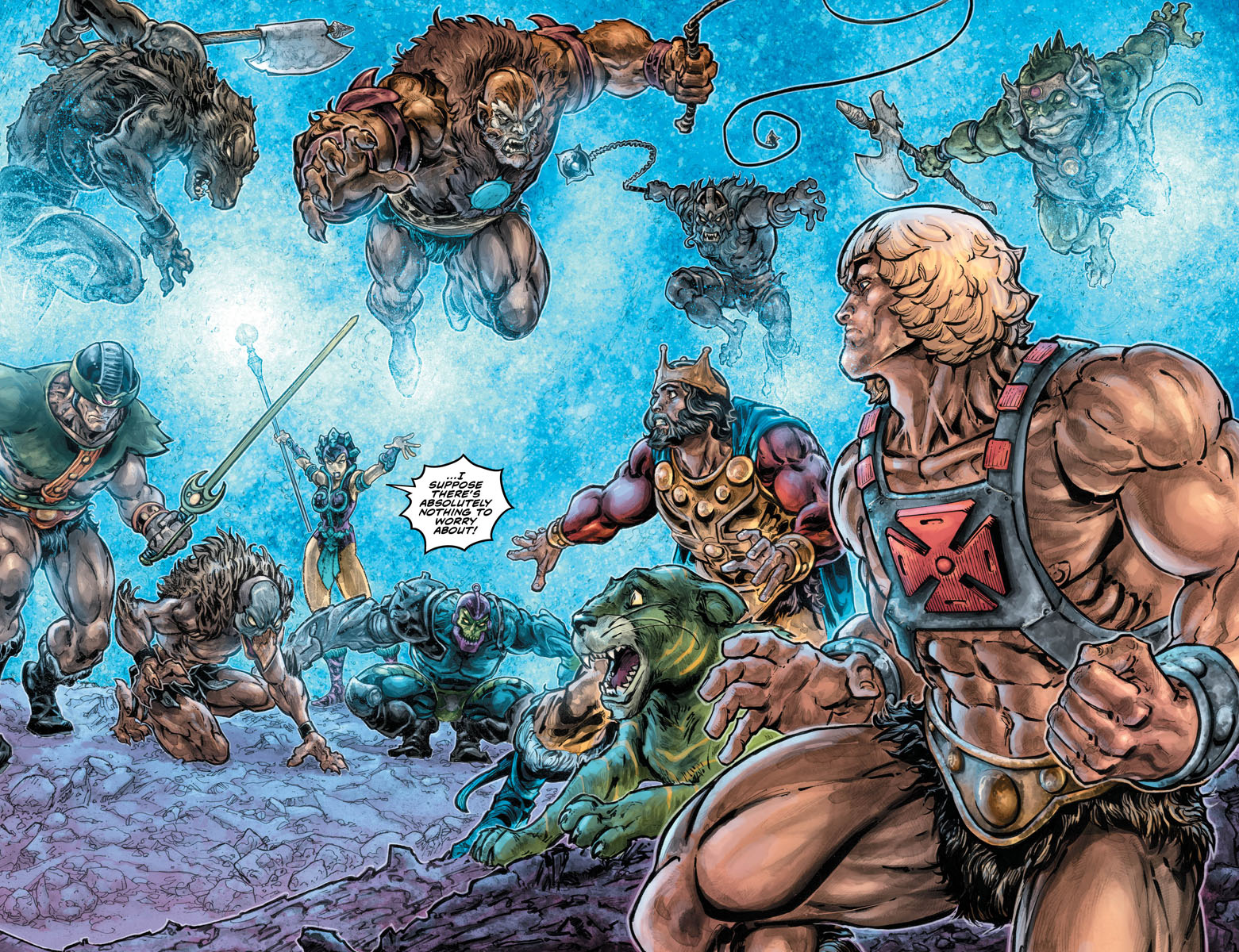 He-Man Thindercats 2 pages 6 and 7