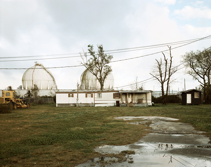 Trailer Home and Natural Gas Tanks, Good Hope Street, Norco, Louisiana, 1998