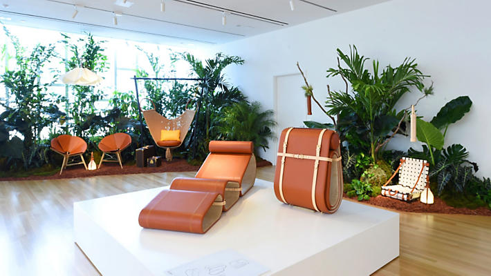 Lounge Chair/Marcel Wanders for Louis Vuitton Objetws Nomades
