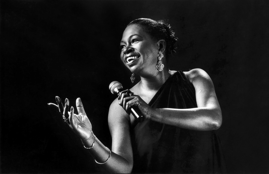 Maxine Brown, photo studio for the Rhythm & Blues Foundation, New York, NY, 1994