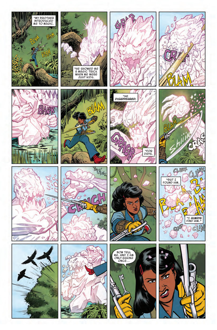 Doctor Strange and the Sorcerers Supreme 4 page 1