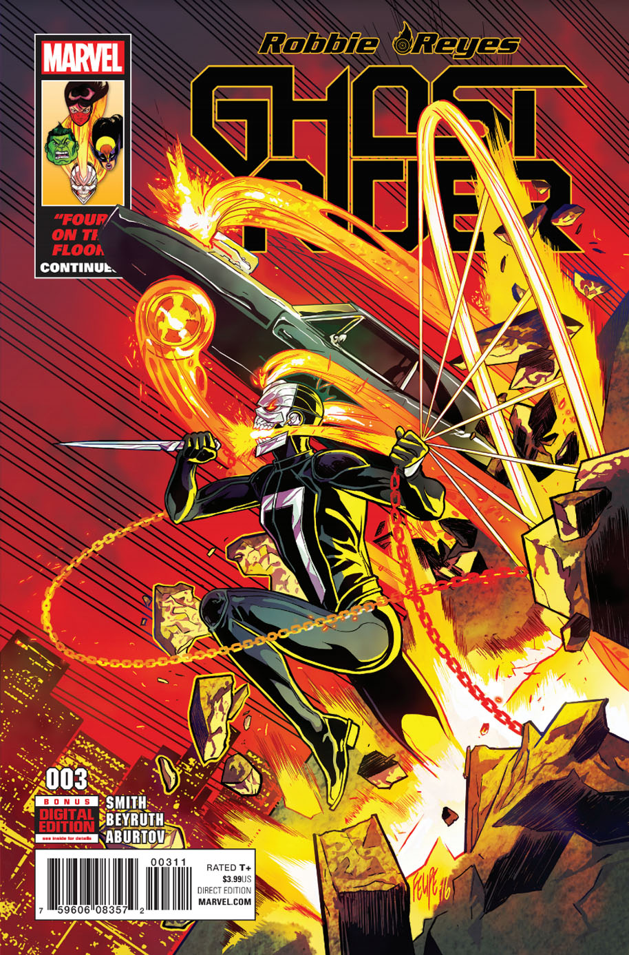 Ghost Rider 3 Cover