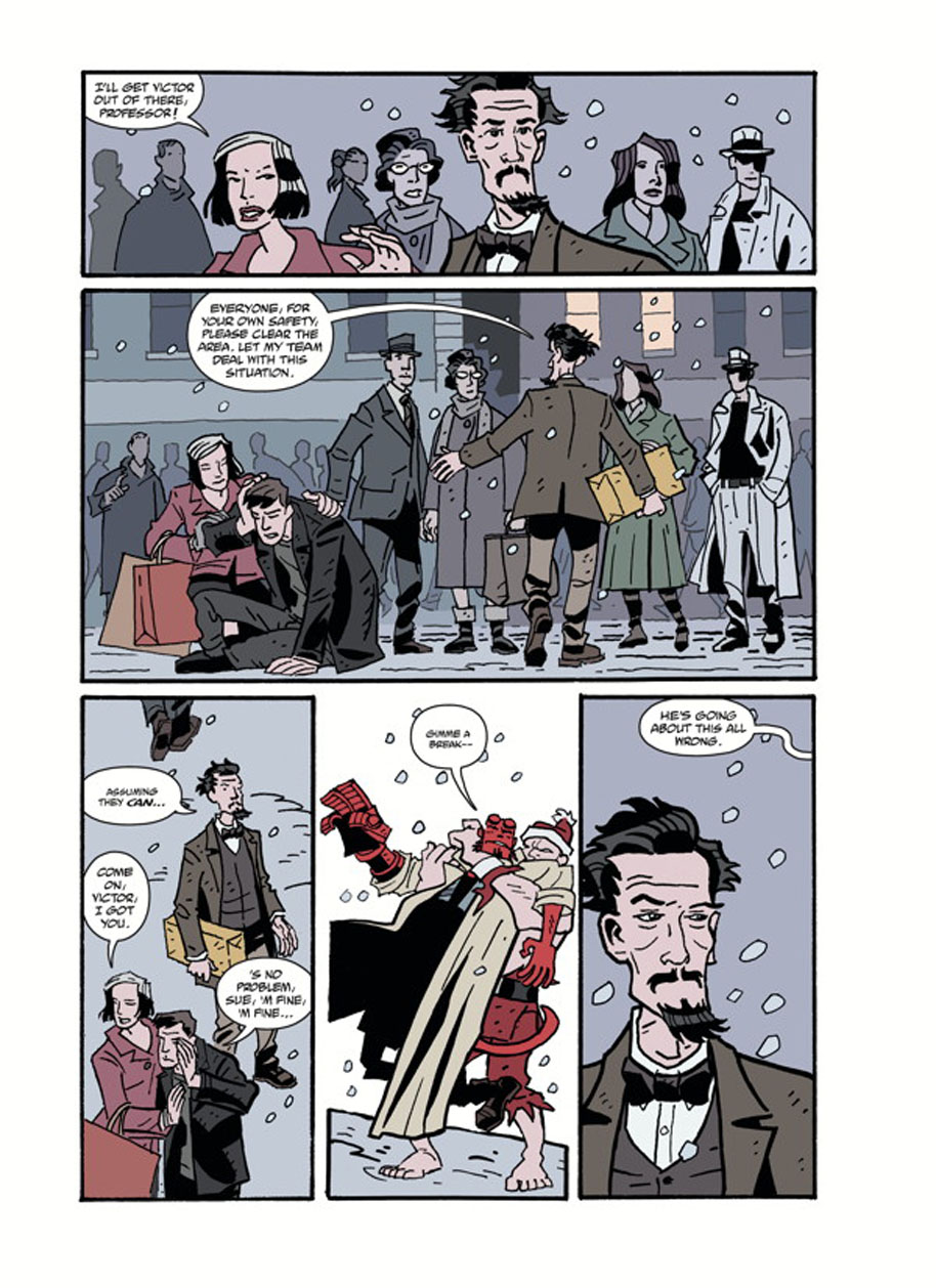 Hellboy Winter Special God Rest Ye page 5