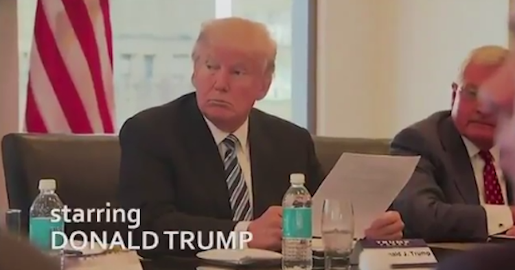 the office parody featuring donald trump