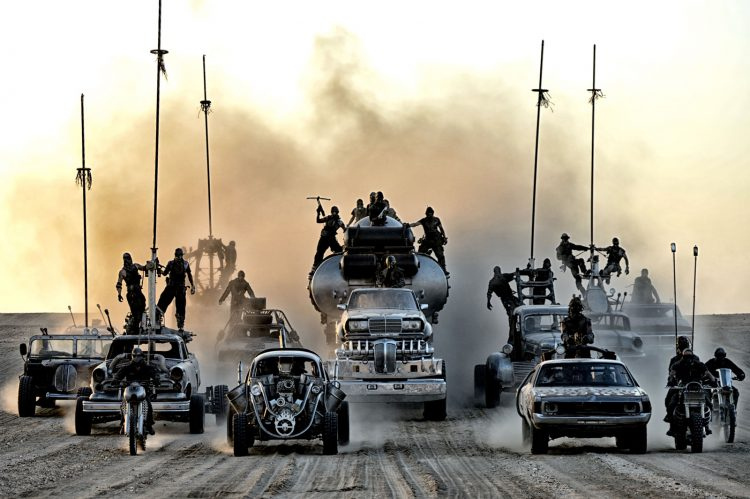 Movies to watch while high - Mad Max: Fury Road